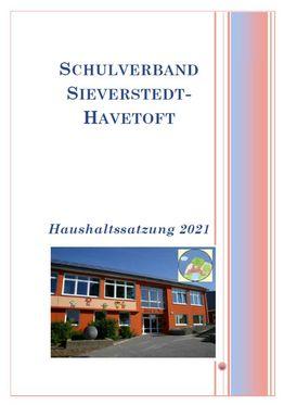 Öffnet das PDF Haushaltssatzung 2021 des Schulverbandes Sieverstedt-Havetoft